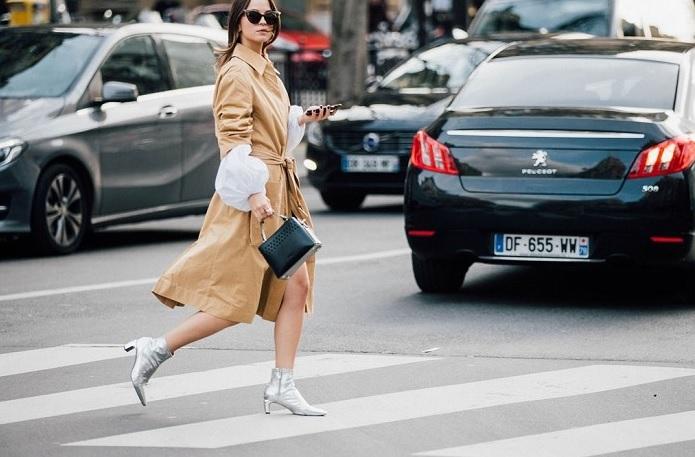 Тренч - модне пальто в сезон осінь - 2017