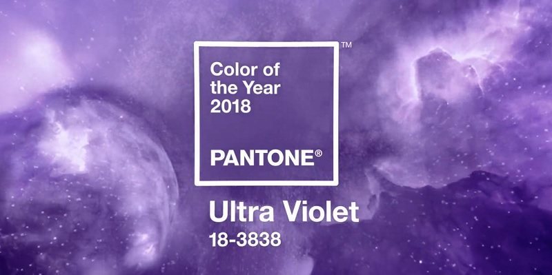 Головний модний колір 2018 року - Ультрафіолет (Ultra Violet)