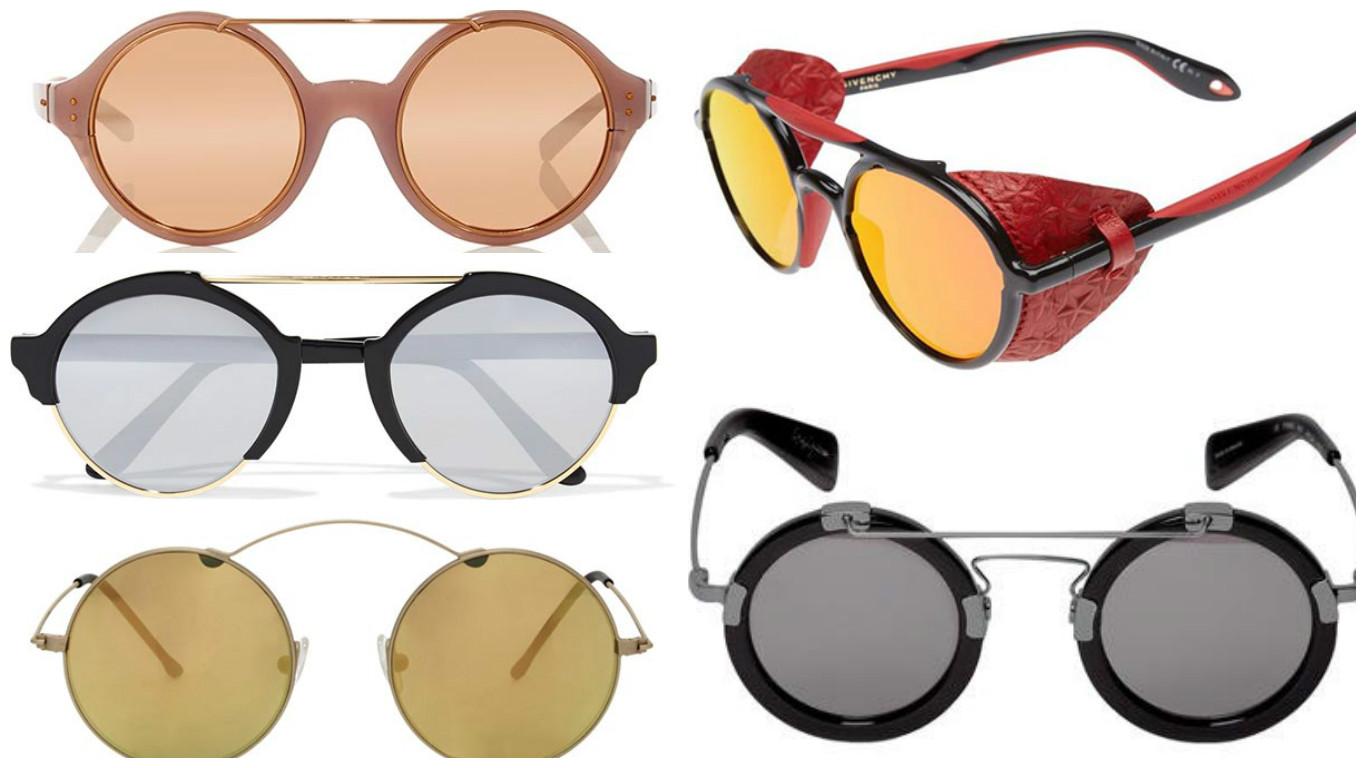 Круглі окуляри - підбірка наймодніших круглих окулярів 2017 року