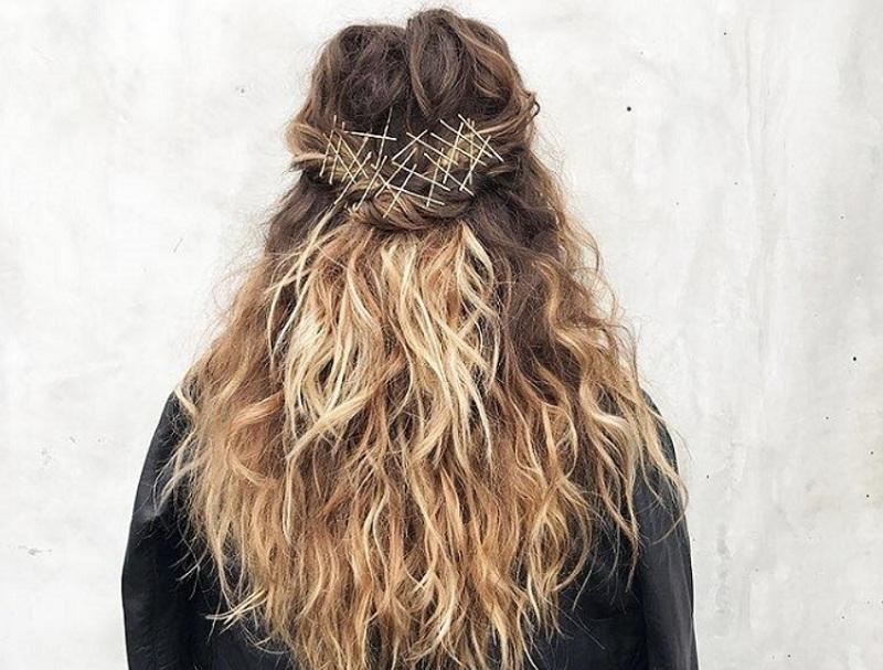 Ідеї зачісок з використанням Bobby pin - тренд осені 2017