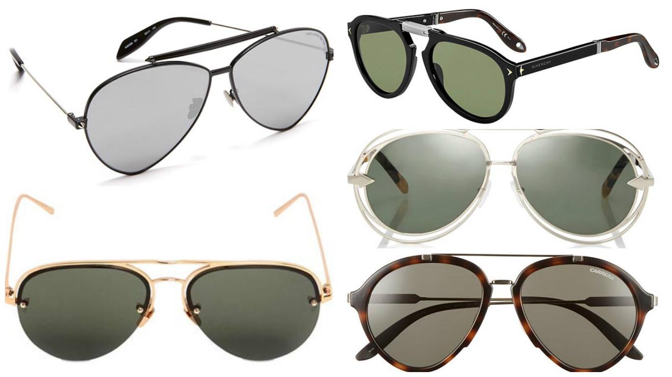 Авіатори - підбірка наймодніших окулярів