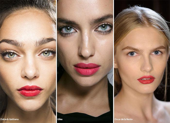 Тренди 2016:  Наймодніші макіяжі для губ цієї весни