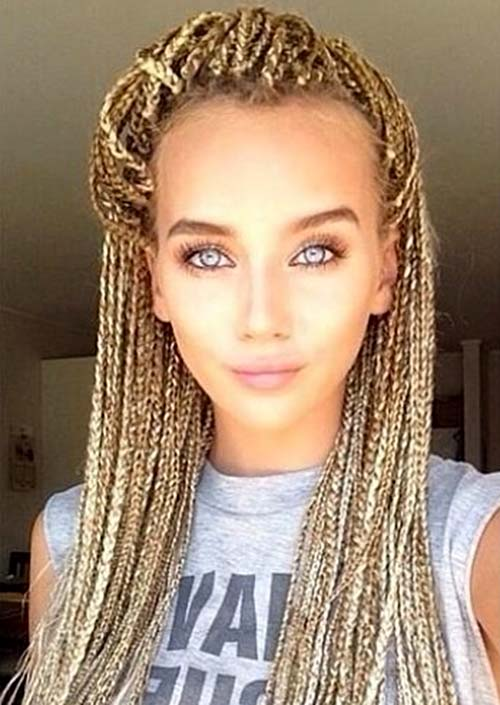 Braid styles for white women