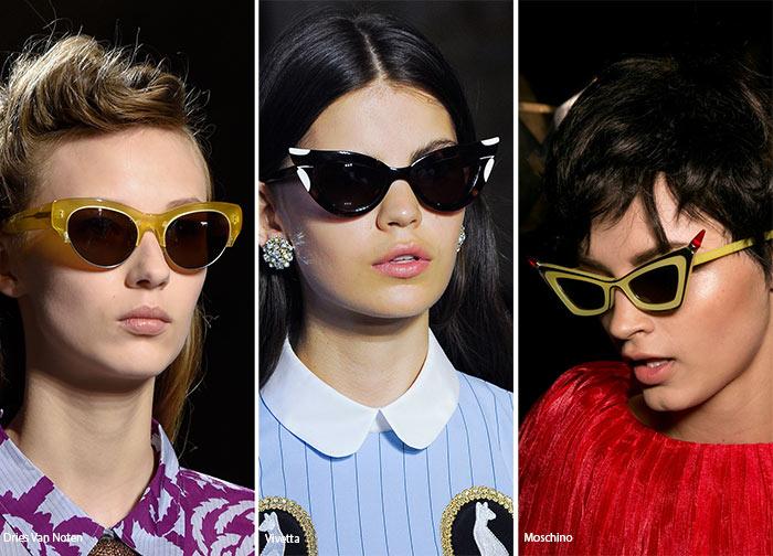 Тренди 2016. Модні сонцезахисні окуляри весни та літа   Тренди 679332e18d8c0