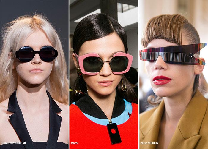 Модні сонцезахисні окуляри 2016. Геометричні сонцезахисні окуляри 0a73b91a0a566