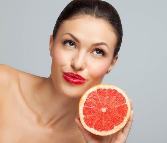 Маски з грейпфрута для обличчя, тіла та волосся