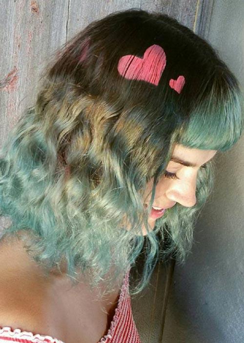 Трафарети на волосі. 20 ідей фарбування волосся в новому тренді