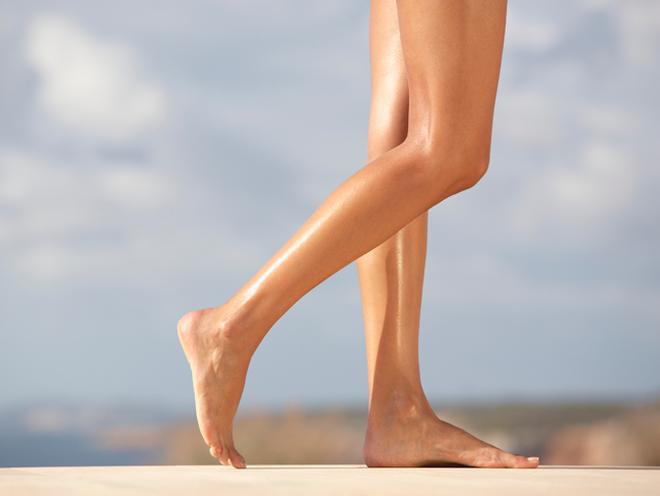 Як зробити ніжки бездоганними