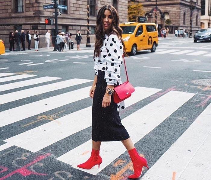 Манія горошку: Як просто сформувати модний образ 2018 року