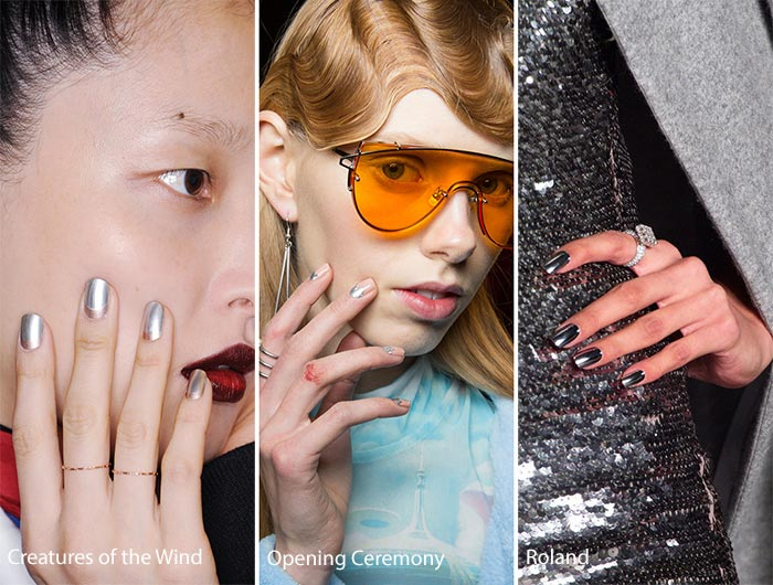 Модные ногти осень-зима 2017