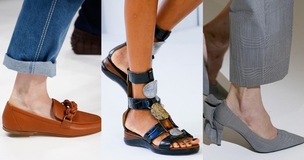 Модне взуття сезону весна/літо 2019