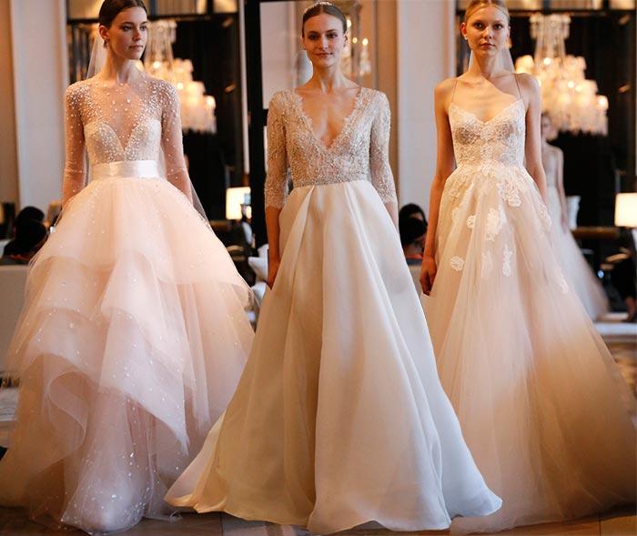 Весільна мода 2016.  83 ідеї дизайнерських весільних суконь та взуття для наречених