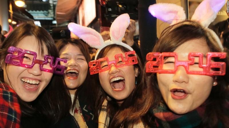 Як зустрічали Новий рік у всьому світі