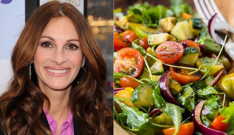 3 вегетаріанські салати від знаменитостей: Наталі Портман, Джулії Робертс та Джессіки Біл