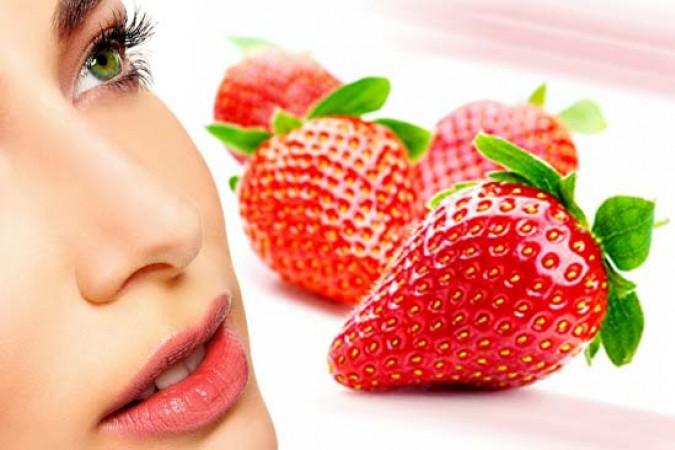 8 масок з полуницею для омолодження, ліфтингу, очищення та висвітлення шкіри