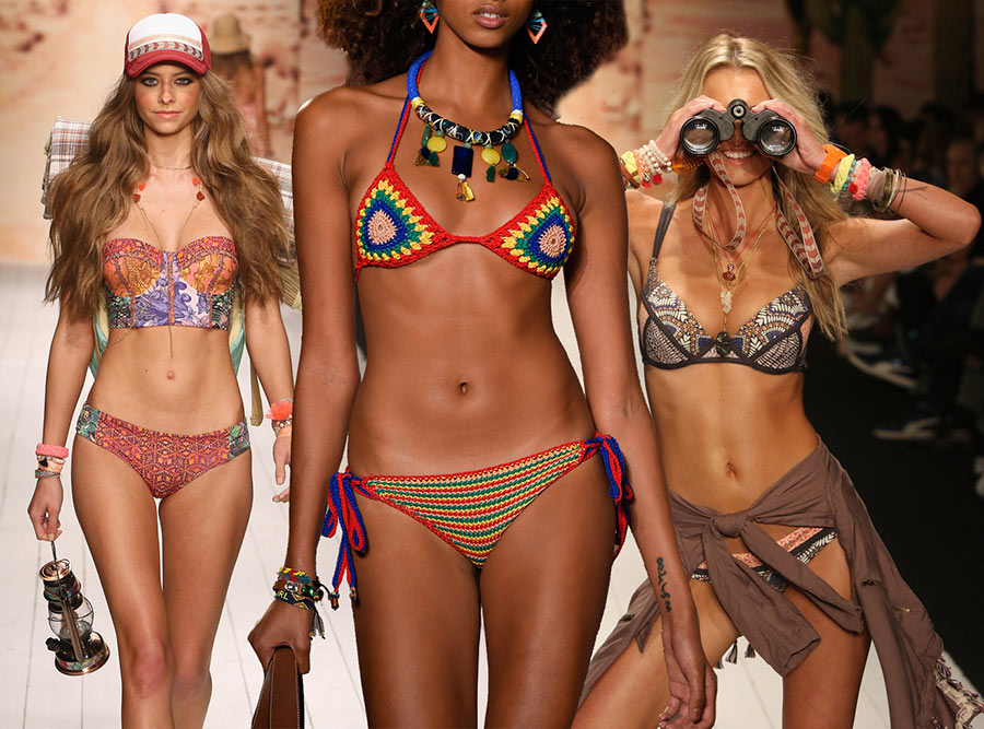 Тренди 2016: Модні та стильні купальники від світових дизайнерів
